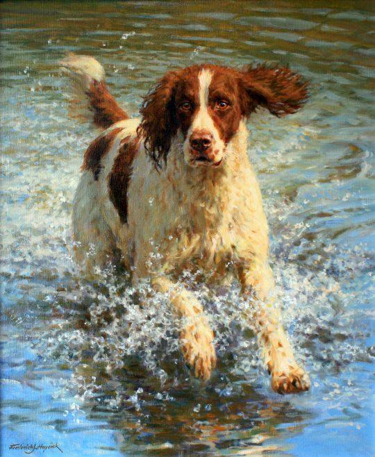 Making a Splash by Frederick Haycock