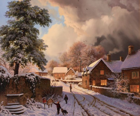 Posting Letter to Santa Claus - Daniel Van der Putten