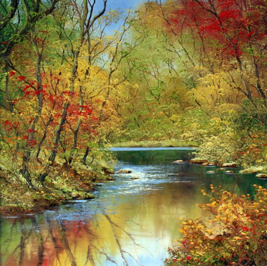 Reflections of Autumn by Terry Evans