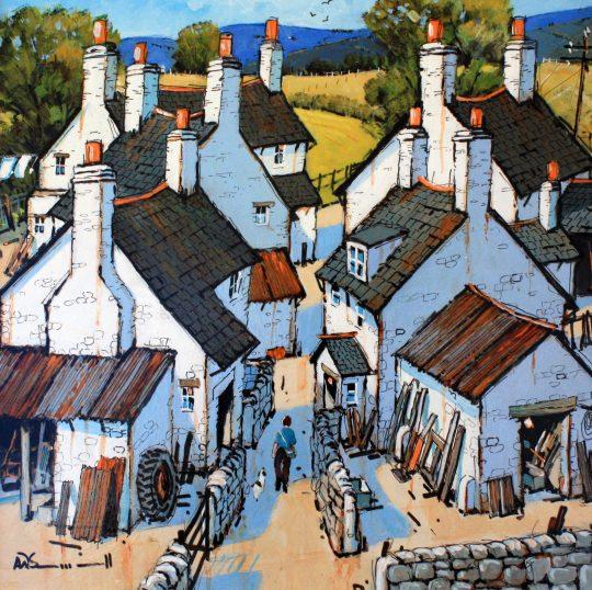 Along the Narrow Street by Alan Smith