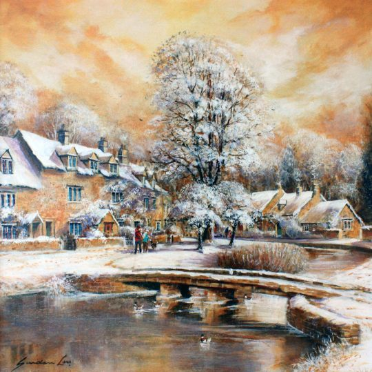 Lower Slaughter by Gordon Lees