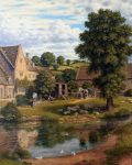 Manor Farm Cotswolds by Laurence Udall
