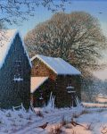 Snow scene by Edward Hersey