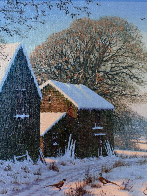 Snow scene by Edward Hersey