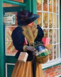 The Lady goes Shopping by Glynn Williams