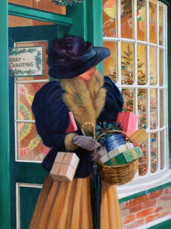 The Lady goes Shopping by Glynn Williams