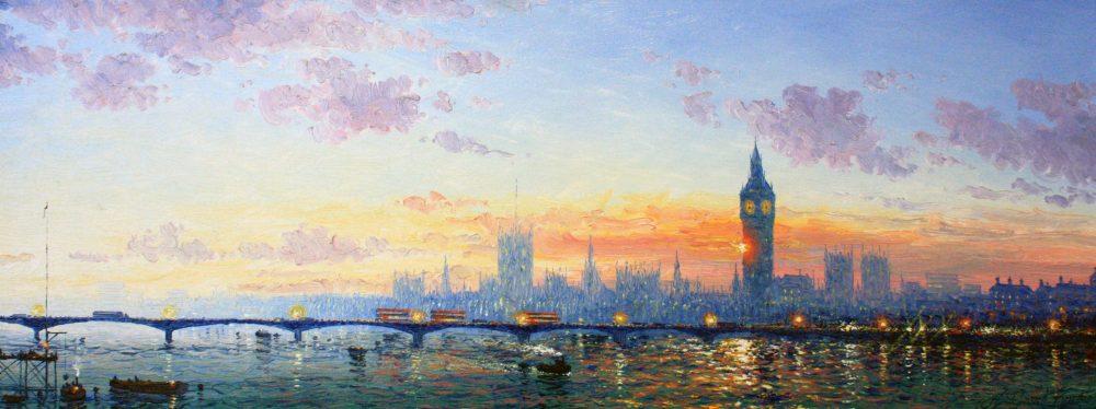 Westminster Bridge by Andrew Grant Kurtis