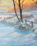Winter Sunrise by Paul Higgins