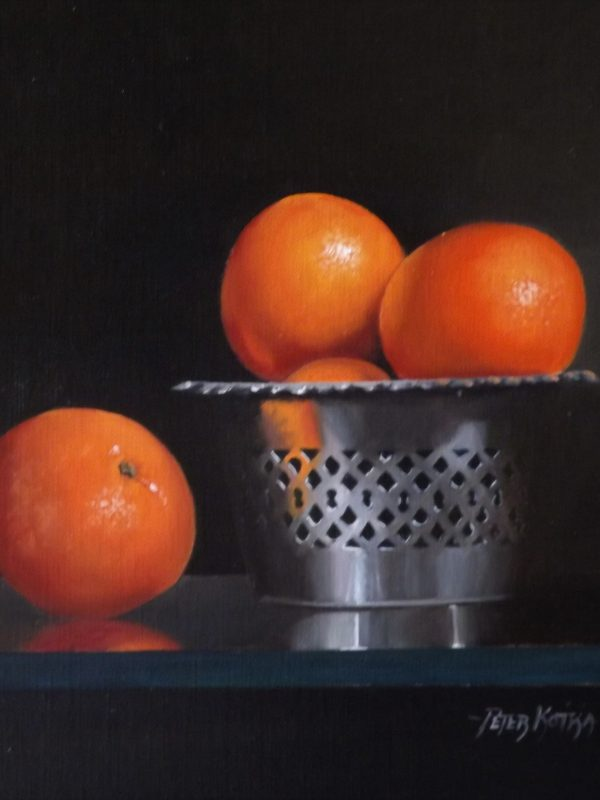 Clementine's and Silver Basket by Peter Kotka