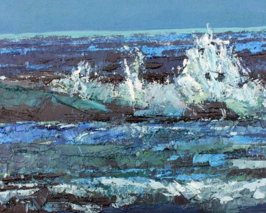 Dancing Waves by Clive Butterworth