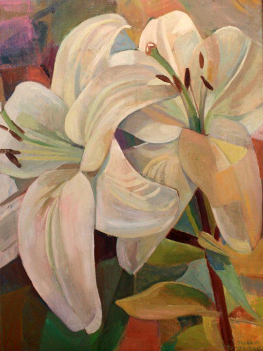 Lilies by Julia Sorrell RI