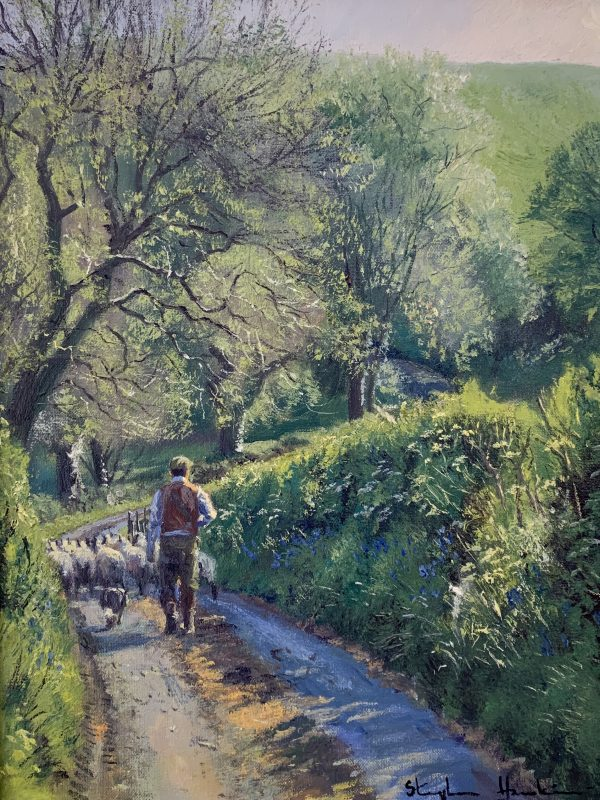 Off to the fields by Stephen Hawking 2